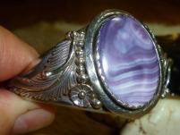 SOLD: Fine 1960s Wampum shell cuff
