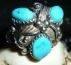 Lovely Navajo sterling ring